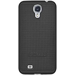 Amzer 95577 Snap on Case - Black for Samsung GALAXY S4 GT-I9500