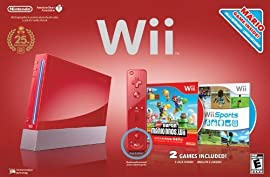 Nintendo Wii Hardware Bundle (Red)