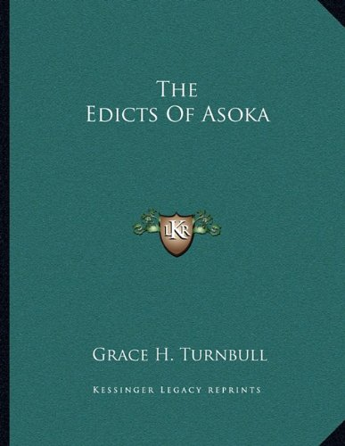 The Edicts Of Asoka PDF
