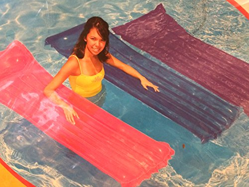 Transparent Purple Air Mat Swimming Pool 59702wl Adult Only
