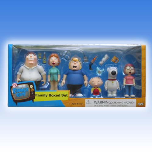 Picture of Mezco Family Guy Complete Griffin Family Box Set Figure (B0009IYP9K) (Mezco Action Figures)