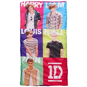 1D Sleeping Bag with Carry Pack - Slumber Bag - One Direction from Jay Franco & Sons
