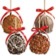 Chocolate Covered Caramel Apples - 4 Pack
