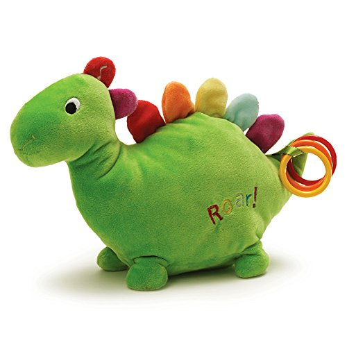 "Gund Fun Color Counting is Fun Dino 8"" Plush - 1"