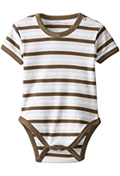 L'ovedbaby Baby-Girls Newborn Organic Short-Sleeve Bodysuit