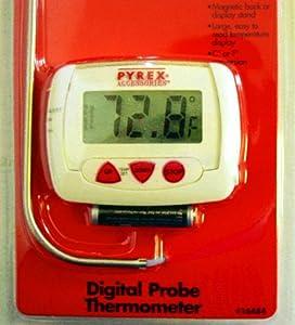 Pyrex 16484 Digital Probe Thermometer