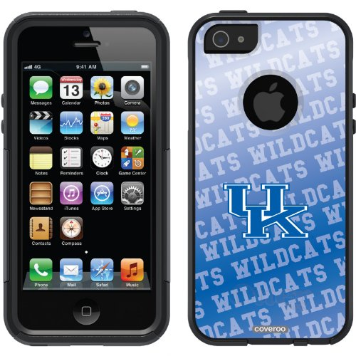 Special Sale University of Kentucky - background design on a Black OtterBox® Commuter Series® Case for iPhone 5s / 5