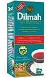 Dilmah Premium 100% Pure Ceylon Tea, 25-Count Tea Bags (Pack of 6)