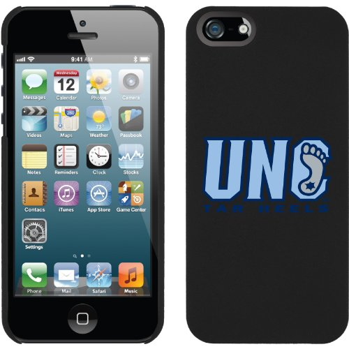 Special Sale North Carolina UNC Tar Heels design on a Black iPhone 5s / 5 Thinshield Snap-On Case by Coveroo