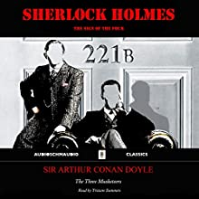 Sherlock Holmes - The Sign of the Four Audiobook by Sir Arthur Conan Doyle Narrated by Tristam Summers