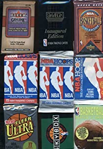 100 OLD BASKETBALL CARDS ~ SEALED WAX PACKS ESTATE SALE WAREHOUSE FIND!