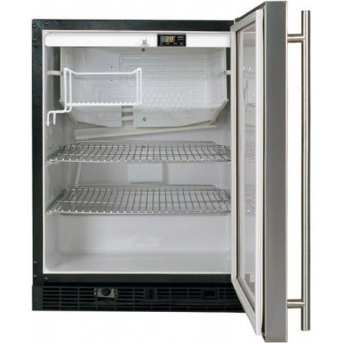 Ada Height Refrigerator Color: Stainless Steel, Hinge: Left front-596463