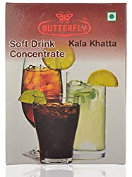 Butterfly Soft Drink Concentrate- Kala Khatta, 30 Grams
