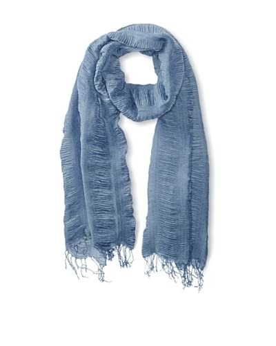 Jules Smith Women's Ruched Scarf, Blue