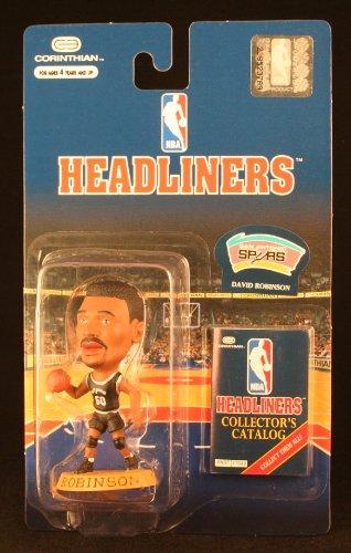 DAVID ROBINSON / SAN ANTONIO SPURS * 3 INCH * 1997 NBA Headliners Basketball Collector Figure - 1