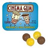 Cinema Gum (popcorn and cola Flavor)
