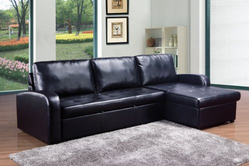 Sectional Sofa Bed With Storage 743 front