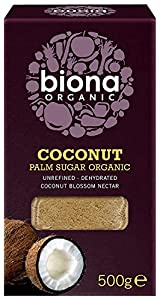 Biona Organic Coconut Palm Sugar 500 g (Pack of 3)