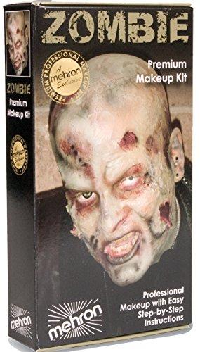 Mehron Zombie Make Up Kit KMP