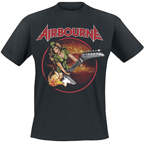 Airbourne -  T-shirt - Uomo nero X-Large