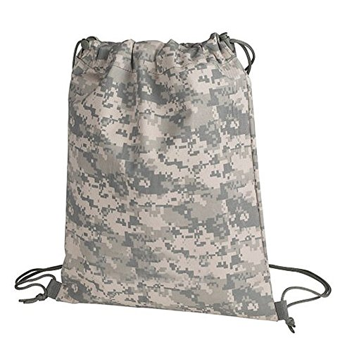 The Lost Traveler ACU Digital Camouflage Drawstring Tote Bag Backpack Camo (Acu Digital Bag compare prices)