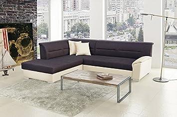 Ecksofa Bergen Eckcouch Sofa Couch mit Bettfunktion 01194
