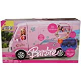 Barbie HOT TUB PARTY BUS Vehicle MOTORHOME VAN with LIGHTS & SOUNDS