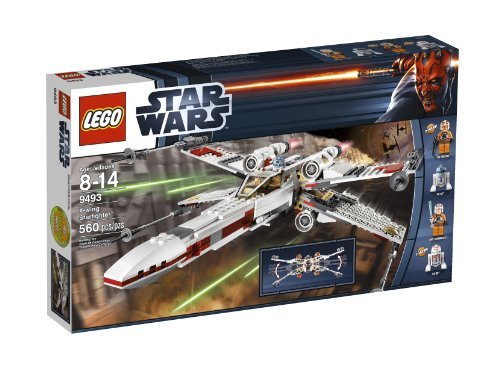 LEGO Star Wars X-Wing Starfighter 9493 Amazon.com