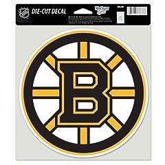 Buy Boston Bruins NHL Hockey Sports Team Auto Car Truck Color 8x8 Die-Cut Decal Sticker by WinCraft