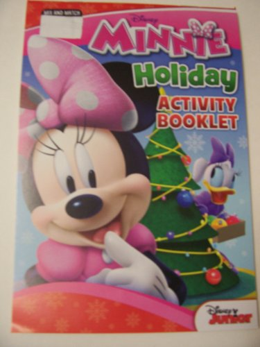 Disney Minnie Mouse Bow-tique Coloring and Activity Pad ~ Christmas Edition (Daisy and Minnie Decorating the Tree) - 1