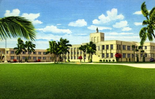 U.S. Naval Hospital, Key West, Florida - Fine-Art