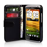 Yousave Accessories PU Leather Wallet Cover Case for HTC One X - Blackby Yousave Accessories