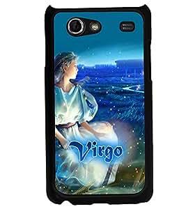 PRINTVISA Zodiac Virgo Case Cover for Samsung Galaxy S Advance I9070