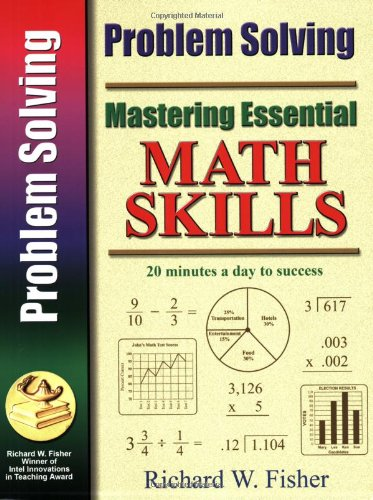Viewing Mathematics Books  of Mastering Essential Math Skills PROBLEM SOLVING (Mastering Essential Math Skills)by Richard W. Fisher (Apr 21, 2008)