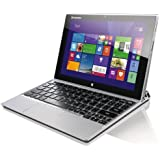 "Lenovo Miix 2 10 59404400 PC Portable Hybride Tactile 10"" Gris (Intel atom, 2 Go de RAM, Disque dur SSD 64 Go, Intel HD Graphics, Windows 8.1) + Microsoft Office Familiale et Etudiant inclus"