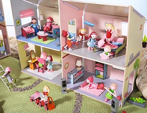 das haba little friends puppenhaus villa sonnenschein. Black Bedroom Furniture Sets. Home Design Ideas