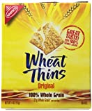Wheat Thins Crackers, 4 Ounce  (Pack of 12)