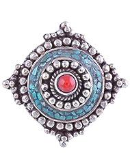 Tibet Jewelry,Coral Ring,Tibetan Jewelry,Ring - B00LB06NT0