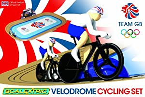 Scalextric G1072 Team GB Velodrome 2012: Track Cycling 1:64 Scale Race Set