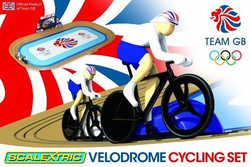 Scalextric G1072 Team GB Velodrome 2012 Track Cycling Race Set