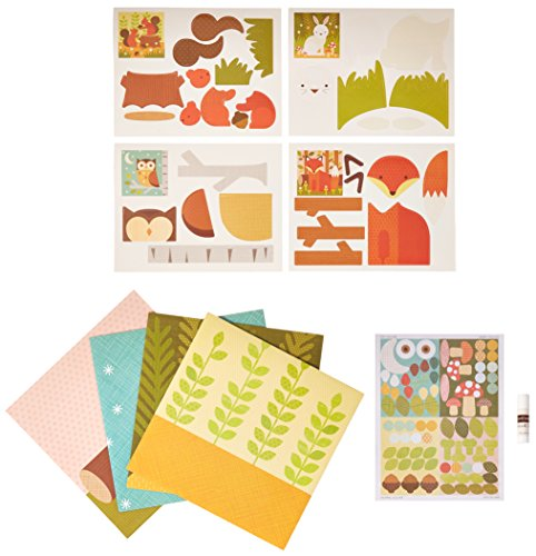Petit Collage Forest Animals My Petit Collage Kit