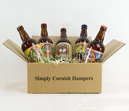 Simply Cornish Real Ale Hamper In A Standard Carton