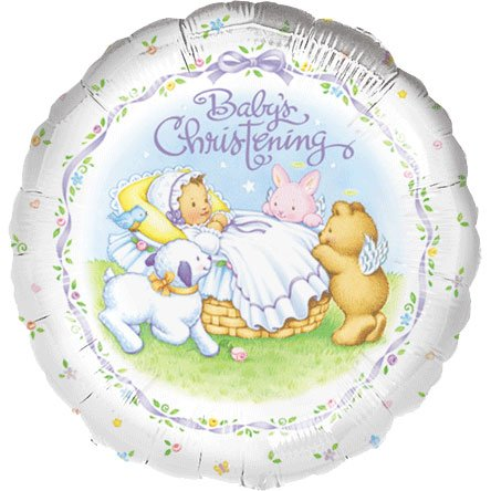 "18"" Heavenly Moments Christening - 1"
