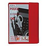アーティミス 手帳カバー ポーチ型 B6 レッド TK-POC RD