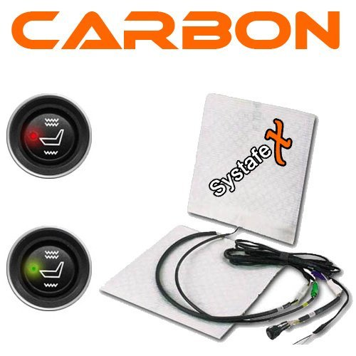 Systafex KFZ Carbon - Auto Sitzheizung Sitz Heizung