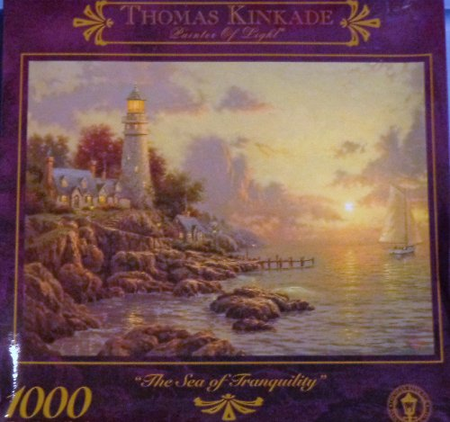 "Thomas Kinkade ""The Sea Of Tranquility 1000 piece puzzle"
