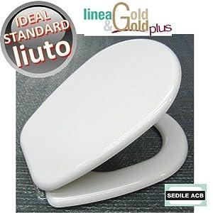 Sedile per wc liuto ideal standard marca acb linea gold for Ideal standard liuto