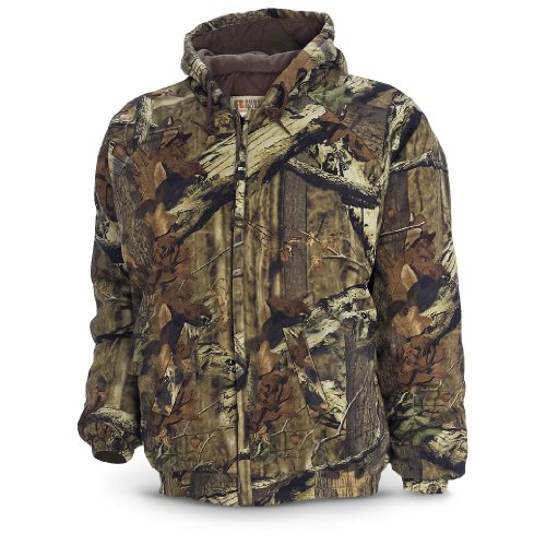 Russell Outdoors Men's Flintlock Hooded Jacket (Infinity, Large)