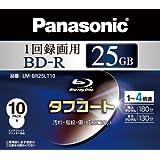 Panasonic ブルーレイディスク 録画用4倍速 25GB(単層 追記型) 10枚パック LM-BR25LT10