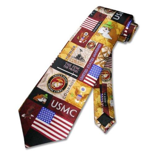 usmc marine corps 100 silk neck tie s necktie t0335
